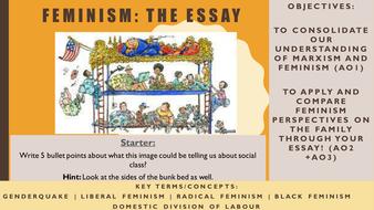 aqa as sociology feminism essay