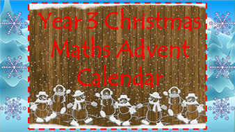 Year-3-Christmas-Maths-Challenges-advent-calendar.pptx