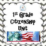 1st Grade Citizenship Unit