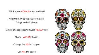 Pattern And Colour Design Skullpptx