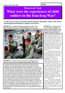What were the experiences of child soldiers in the Iran-Iraq War?