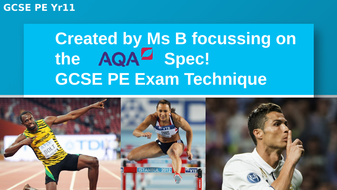 EXAM TECHNIQUE MUST - GCSE PE AQA (9-1) Exam prep -how to answer long / extended answer questions