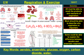 Respiration & Exercise | AQA B1 4.4 | New Spec 9-1 (2018)