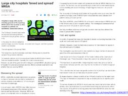 Newspaper-articles---MRSA.pptx
