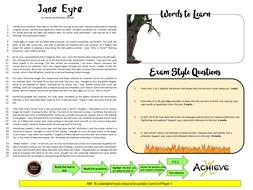 Gcse Edexcel Jane Eyre Extract Questions 1 4