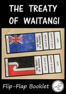 The Treaty of Waitangi - Flip Flap Booklet