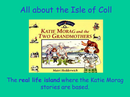 Katie Morag Islands Topic - Year 2 Geography Activities - The Isle of Coll  and the Isle of Struay