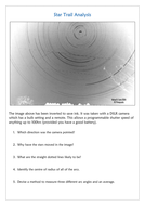 Star Trail Analysis - astronomy, astrophysics, physics