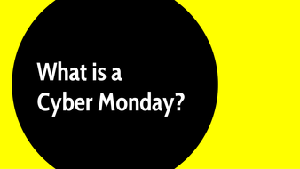 What is a Cyber Monday?