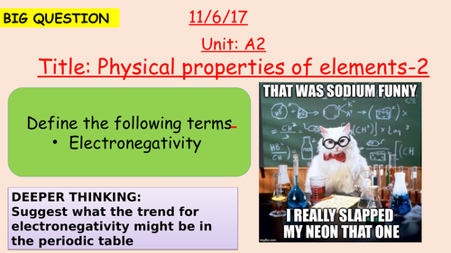 Pearson BTEC New specification-Applied science-Unit 1-Physical properties of elements-2-A2