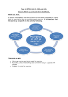 BTEC Sport Level 2 - Warm up and Cool Down Worksheet