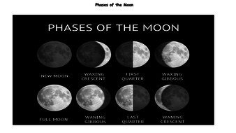 Phases of the moon homework help