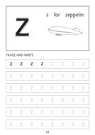 set of simple letter a a to z z dot to dot worksheets with pictures by hawopatel teaching. Black Bedroom Furniture Sets. Home Design Ideas