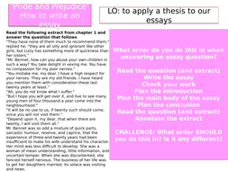 Pride And Prejudice Essay Structure By Sandreoli  Teaching  Essaystructureenglishfacultyprideandprejudicepptx