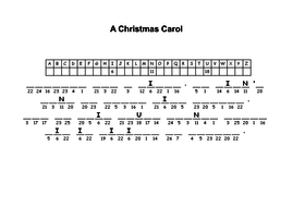 A Christmas Carol Pdf.A Christmas Carol Code Puzzles Differentiated With Answers