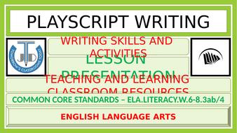 PLAYSCRIPT-WRITING.pptx