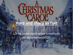 A Christmas Carol Stave I lesson powerpoints and resources   Teaching Resources
