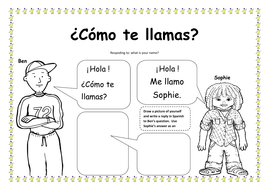 spanish introductions and numbers lesson plan and resources ks1 2 by mrspomme teaching resources. Black Bedroom Furniture Sets. Home Design Ideas