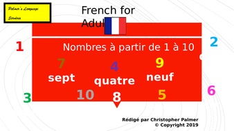 French-for-adults---Nombres-1-10.pptx