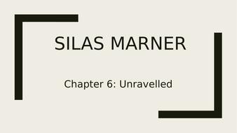 silas marner main characters