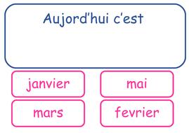 MFL  - French interactive calendar