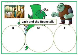 Jack and the Beanstalk - BIG WRITE!