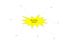 Blank mind map brainstorm spider diagram by kimberleyanddarren blank mind map brainstorm spider diagram ccuart Images