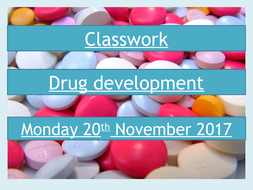 AQA GCSE Biology B6.4 Developing Drugs