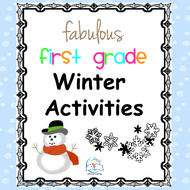 Winter Activities for 1st Grade {Literacy and Math} by ...
