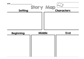 Story Map Templates By Ventori Teaching Resources Tes