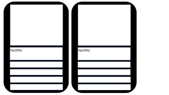 Top Trumps Templates by eviejford - Teaching Resources - Tes