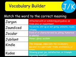 Vocabulary-Builder-JK.ppt