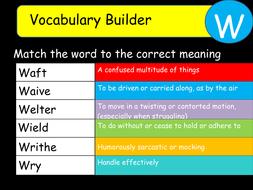 Vocabulary-Builder-W.ppt