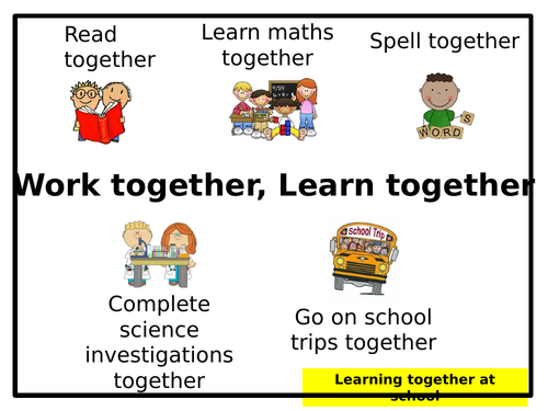 Assembly: 'Work Together, Learn Together'