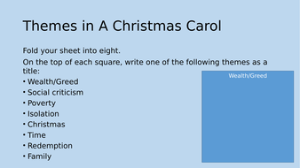 A Christmas Carol Homework Activities   Teaching Resources