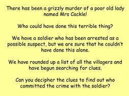 Murder Mystery Maths