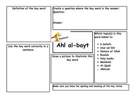 Key-Word-Revision-Mats-Muslim-beliefs-3.docx
