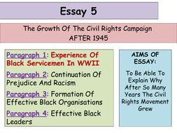 Updated Higher History Usa Essay  Development Of The Civil   Updated Higher History Usa Essay  Development Of The Civil Rights  Movement