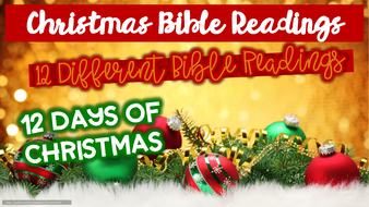 Christmas Readings.12 Days Of Christmas Bible Readings Reflection