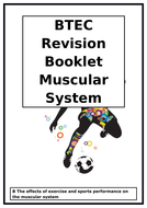 BTEC National in Sport L3 - Unit 1 - Anatomy and Physiology - Muscular System Workbook/Revision Book