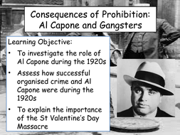 consequences of prohibition