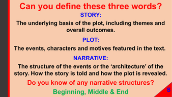 define narrative structure