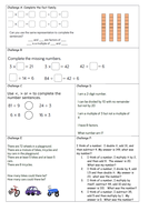 Year 5 Block 4 White Rose Mastery Multiplication and Division Lesson 7 Inverse Operations