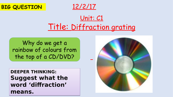 Pearson BTEC New specification-Applied science-Unit 1-Diffraction grating and path difference-C1