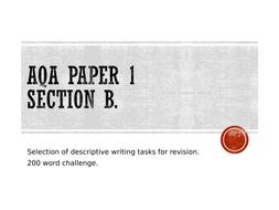 200 word challenge descriptive writing