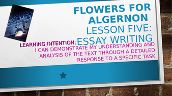 flowers for algernon short story analysis