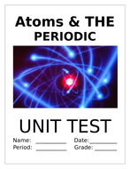 Atoms and the periodic table unit exam by taylaj42 teaching atoms and the periodic table unit exam urtaz Image collections