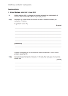 NEW A Level Biology AQA 3.6.2 Nervous Coordination exam questions and mark schemes
