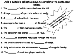 Collective nouns powerpoint and worksheets by teacher of english collective nouns 1pdf ibookread Read Online