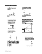 Angles of Elevation and Depression Worksheets (For advanced students ...